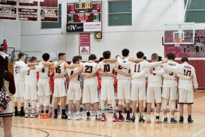 Boys Basketball Senior Night vs Agawam – 2019