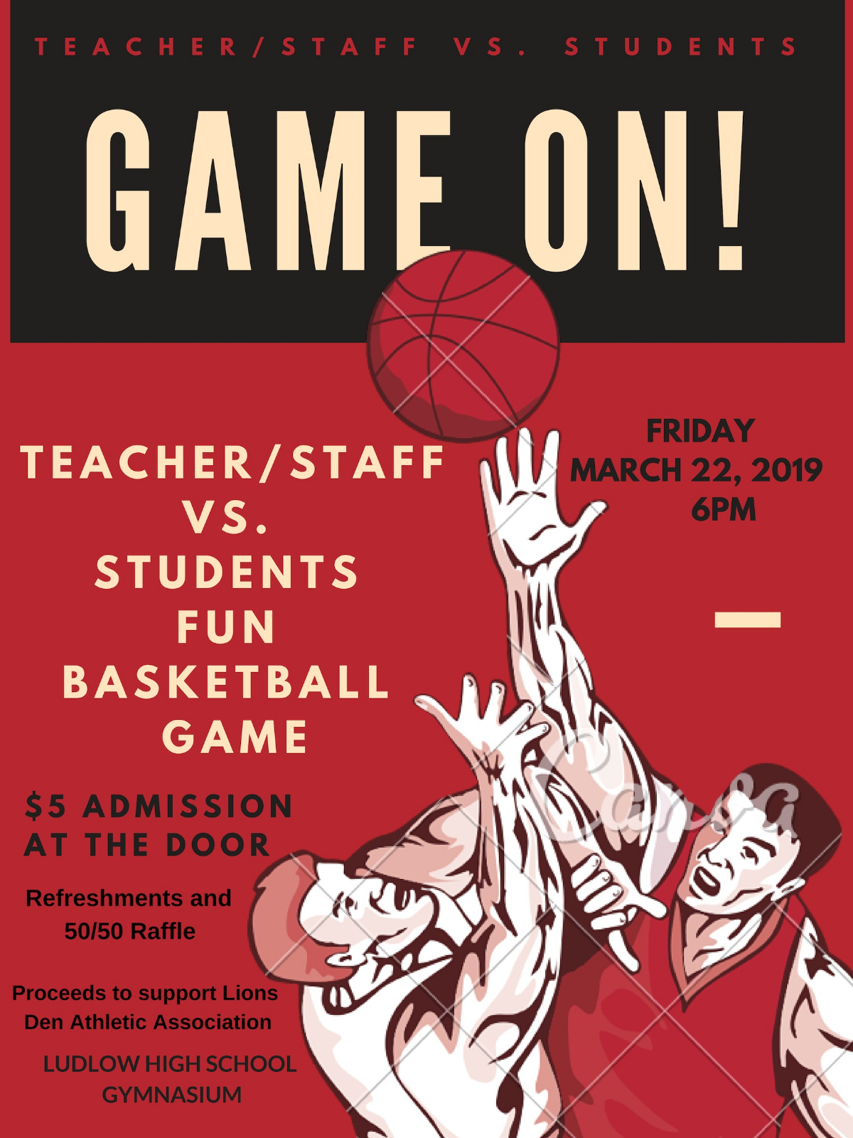 Student vs Faculty Basketball Game