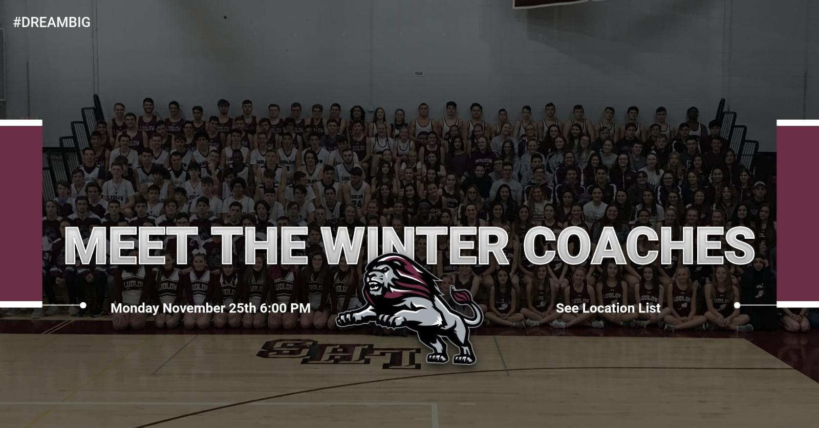 Meet the Winter Coaches Night