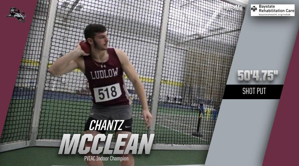 McClean Indoor Shot Put Champ