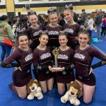 Cheerleaders Win League Championship