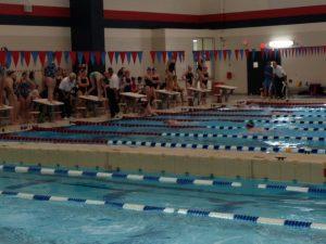 CAAC Red Girls' Swim League Prelims
