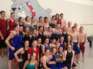 Girls' Swim League Champs