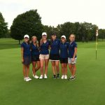 Girls' Golf Sets School Record