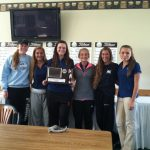 Girls' Golf Wins CAAC Red