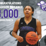 Madison Faulkner reaches 3,000 career points