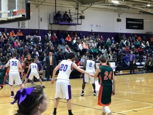 Caverna vs Hart 2017 Basketball