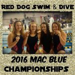 Unified Girl's Swim and Dive Team, The Red Dogs, Shine at Competition!