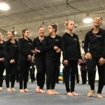 Port Huron United Red Dogs Gymnastics Sweep Meet