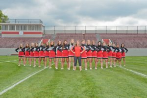 2017 – 2018 Varsity Side Line Cheerleaders