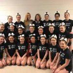 Varsity Comp Cheer Takes 2nd At Pinckney Blackout