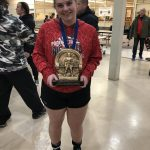 The Smile Says It – Girls Powerlifters Bring Home Yet Another Win!