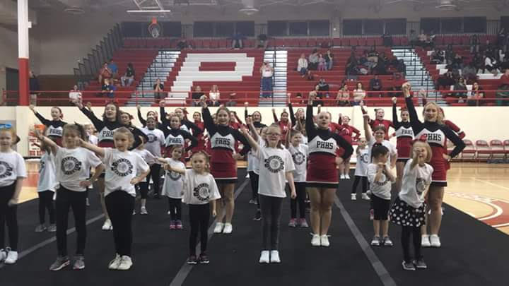 BIG REDS Youth Cheer Clinic – Saturday February 2, 2019