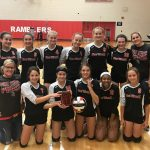 Freshman Volleyball Takes First At Perry Invitational