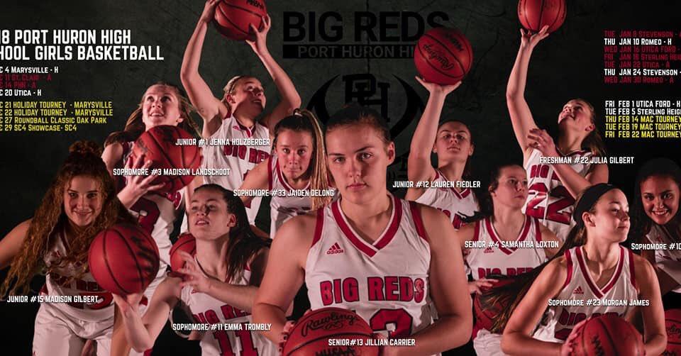 Girls Varsity Basketball Defeats Sterling Heights