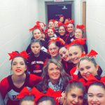 Big Red Varsity Competitive Cheer Opens Up Strong