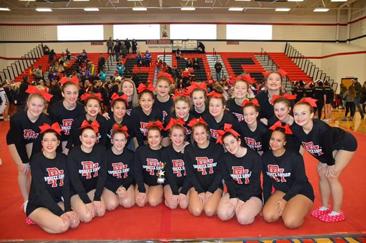 Girls Competitive Cheer Stood Strong At Shorian Invite