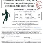 Summer Girls Basketball Camp 2019