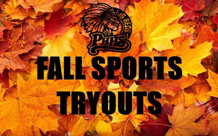 Fall Sports Tryouts – 2019/2020 School Year