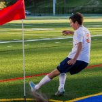 Powers Catholic High School Boys Varsity Soccer beat Detroit Country Day 4-1