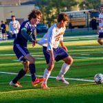 Powers Catholic High School Boys Varsity Soccer beat Frankenmuth High School 5-0