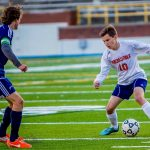 Powers Catholic High School Boys Varsity Soccer beat Davison  High School 4-0
