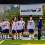 Powers Catholic High School Boys Varsity Soccer beat Fenton High School 2-0