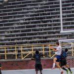 Powers Catholic High School Boys Varsity Soccer beat Swartz Creek High School 5-1