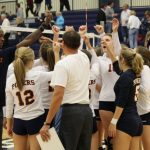 Powers Catholic High School Girls Varsity Volleyball beat Carman-Ainsworth High School 3-0
