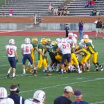 Powers Catholic High School Varsity Football falls to Midland Dow H.S. 30-35