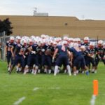 Powers Catholic High School Varsity Football beat Bay City Western High School 45-7