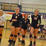 Powers Catholic High School Girls Varsity Volleyball falls to Lapeer Community Schools 1-3