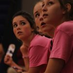 Powers Catholic High School Girls Freshman Volleyball falls to Goodrich High School 0-4