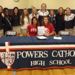 Francesca Coury Signs Letter of Intent to play basketball at Saginaw Valley State University