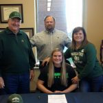Nikole Sargent signs Letter of Intent to join the track team at Michigan State University