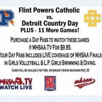 Stream the State Meet and Semifinal Football Game on MHSAA.TV!
