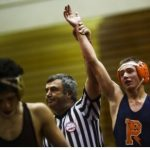 Eric Spidle Wins Genessee County Title in Dramatic Fashion; JV Improves