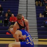 Varsity Wrestling Competitive at Imlay City Invite