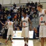 Powers Catholic High School Boys Varsity Basketball falls to Southwestern Academy 45-55