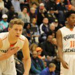 Powers Catholic High School Boys Varsity Basketball beat Northwestern H.S. 60-58
