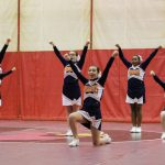 Powers Catholic High School Girls Varsity Competitive Cheer finishes 4th place