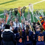 Powers Catholic High School Girls Varsity Lacrosse falls to Troy Athens High School 10-7