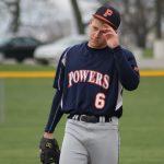 Powers Catholic High School Varsity Baseball game cancelled due to rainout