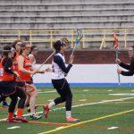 Powers Catholic High School Girls Junior Varsity Lacrosse beat Fenton High School 10-2