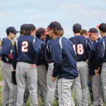 Powers Varsity Baseball Splits vs. Bay City Central