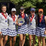 Powers Catholic High School Girls Varsity Golf finishes 2nd place