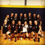 Powers Catholic High School Girls Junior Varsity Volleyball ties Goodrich High School 1-1