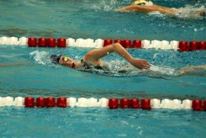Girls' Swimming SVL Championships