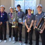 Powers Catholic High School Boys Varsity Golf finishes 1st place