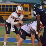 """Varsity Football Plays """"Lights Out"""" to Defeat Saginaw Heritage 37-34 in Double OT"""
